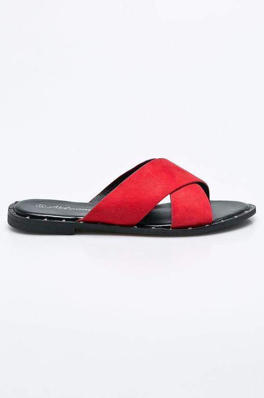 červená Answear - Šľapky Abloom Dámsky