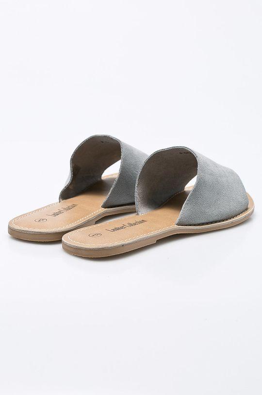 sivá Answear - Šľapky Leather Collection