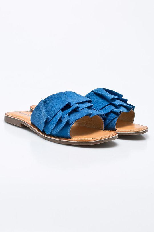 Answear - Šľapky Leather Collection modrá