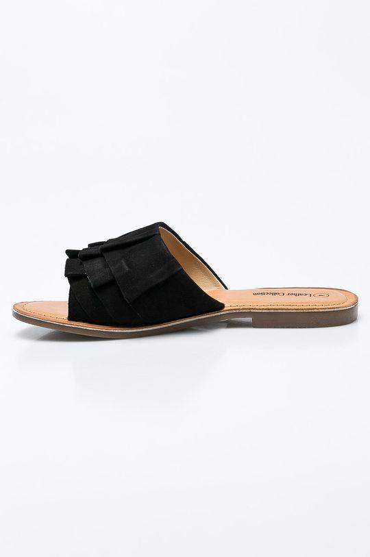 Answear - Šľapky Leather Collection <p>Zvršok: Prírodná koža Vnútro: Prírodná koža Podrážka: Syntetická látka</p>