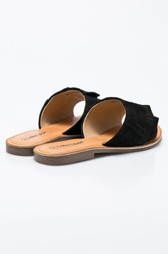 čierna Answear - Šľapky Leather Collection