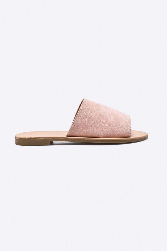 ružová Answear - Šľapky Ideal Shoes Dámsky