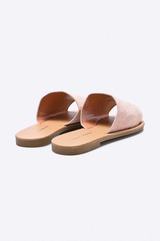 ružová Answear - Šľapky Ideal Shoes