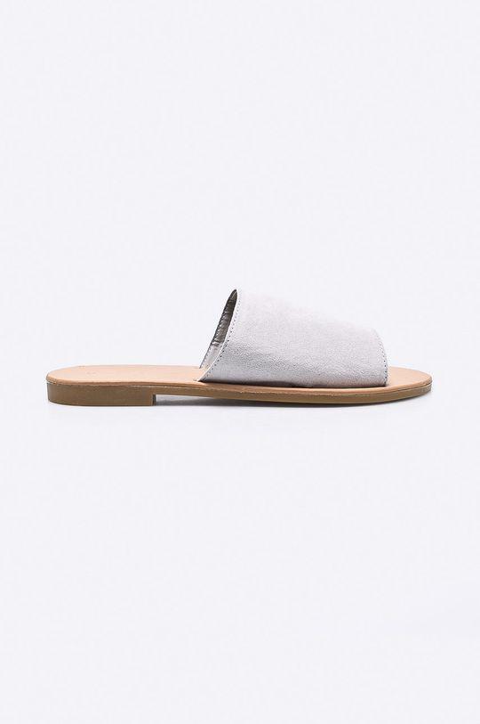 sivá Answear - Šľapky Ideal Shoes Dámsky