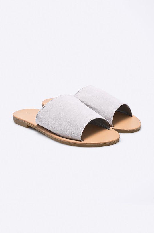 Answear - Šľapky Ideal Shoes sivá
