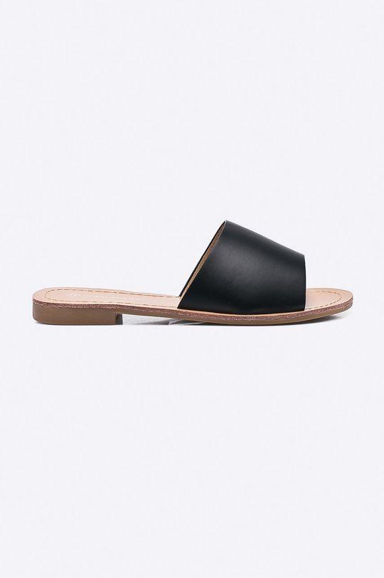 čierna Answear - Šľapky Ideal Shoes Dámsky