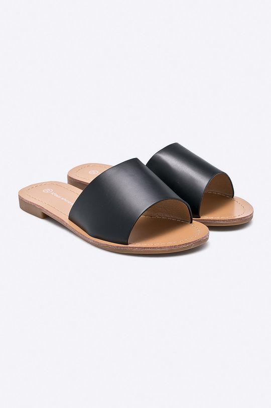 Answear - Šľapky Ideal Shoes čierna
