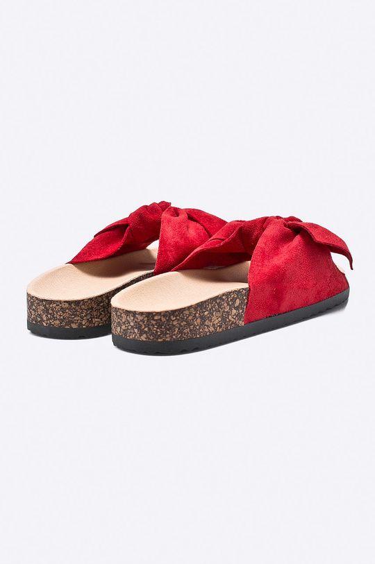 červená Answear - Šľapky Ideal Shoes