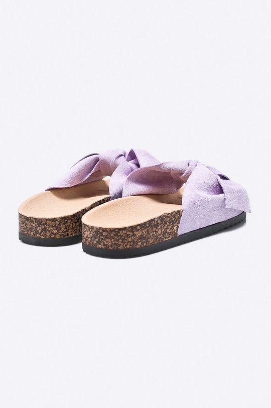 purpurový Answear - Šľapky Ideal Shoes