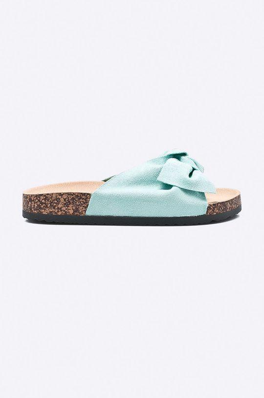 zelená Answear - Šľapky Ideal Shoes Dámsky