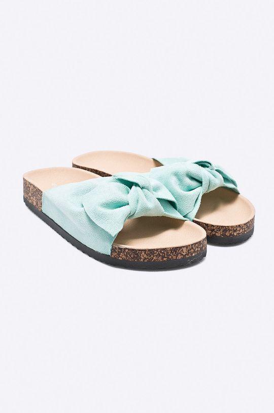 Answear - Šľapky Ideal Shoes zelená