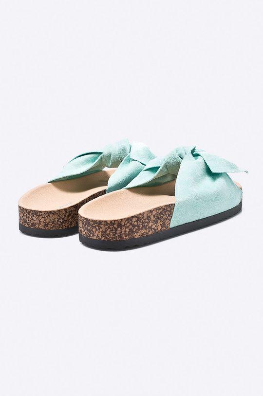 zelená Answear - Šľapky Ideal Shoes