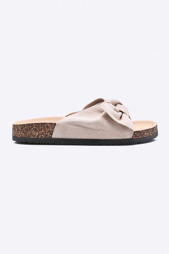 béžová Answear - Šľapky Ideal Shoes Dámsky