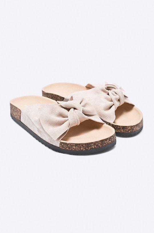 Answear - Šľapky Ideal Shoes béžová