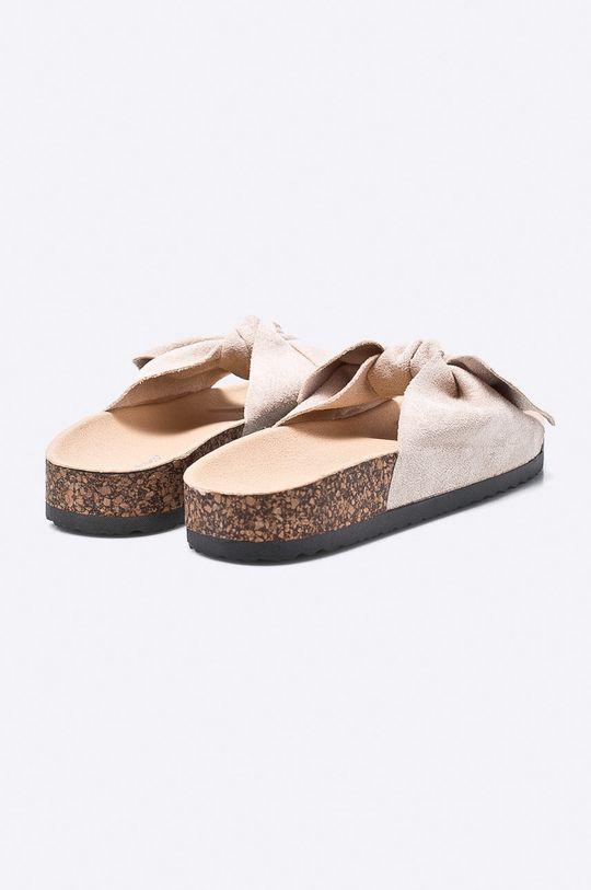 béžová Answear - Šľapky Ideal Shoes