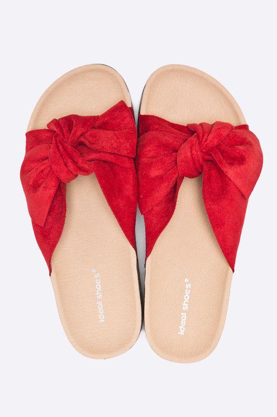 Answear - Šľapky Ideal shoes červená