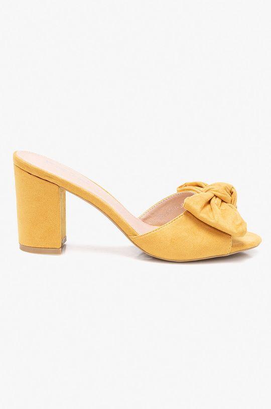 žltá Answear - Šľapky Moow Dámsky