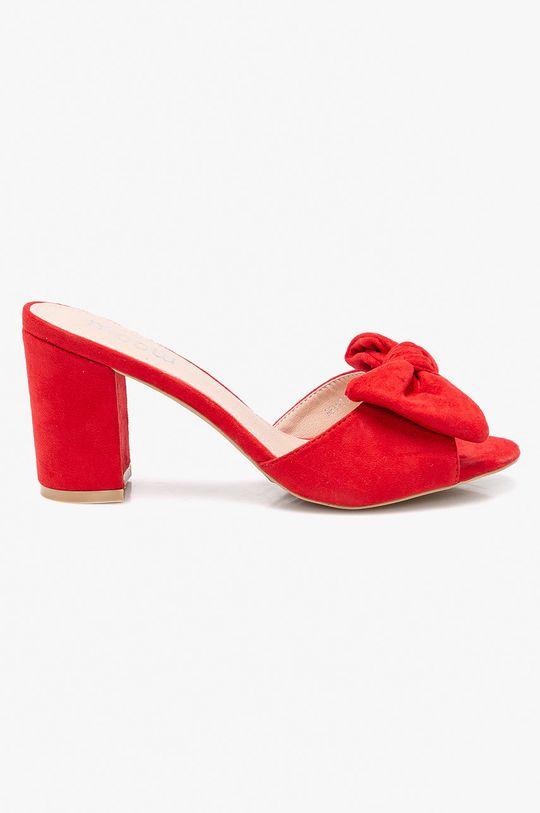 červená Answear - Šľapky Moow Dámsky