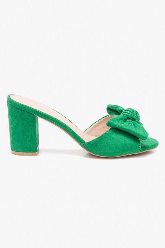 zelená Answear - Šľapky Moow Dámsky