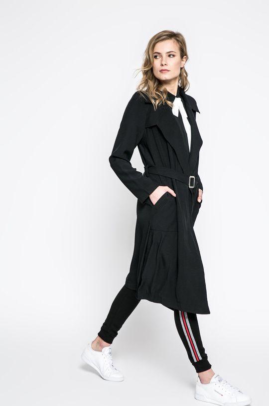 čierna Answear - Kabát Sporty Fusion Dámsky