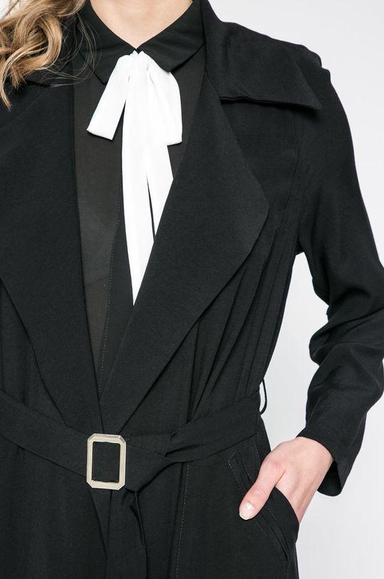 čierna Answear - Kabát Sporty Fusion