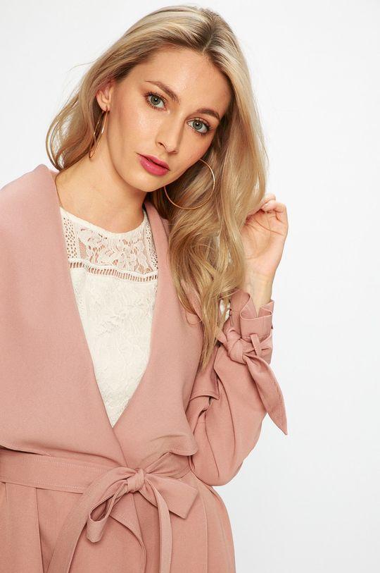 staroružová Answear - Kabát
