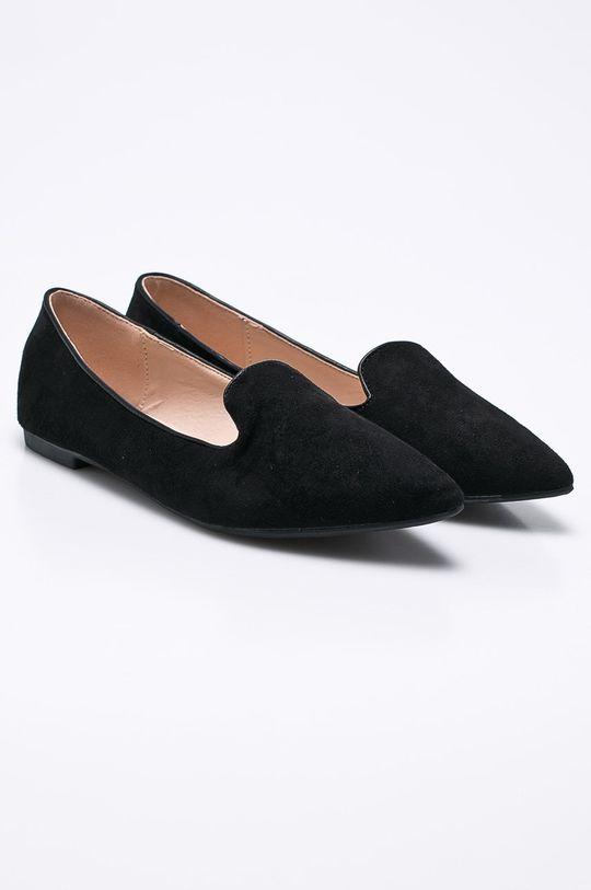 Answear - Poltopánky čierna