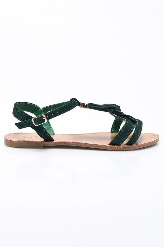 zelená Answear - Sandále Abloom Dámsky