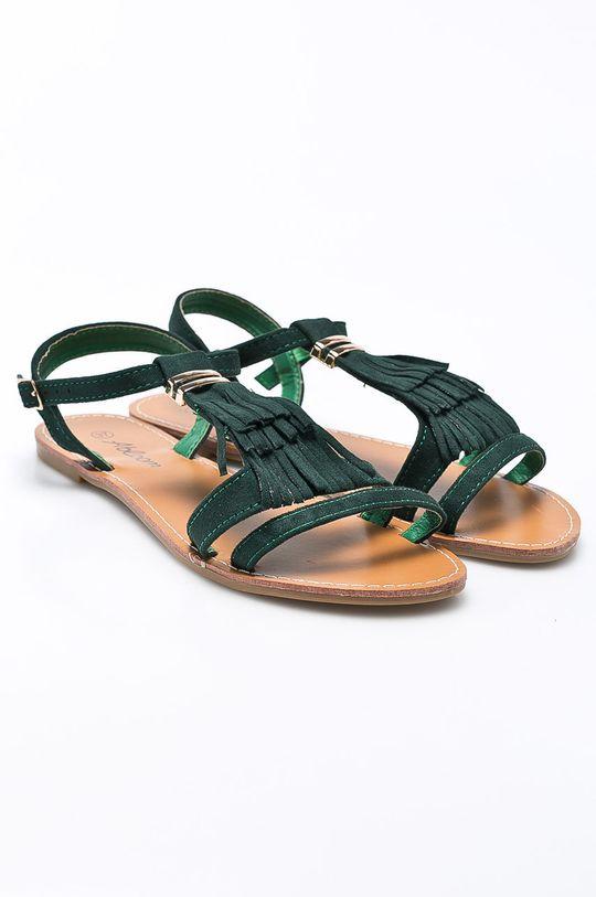 Answear - Sandále Abloom zelená