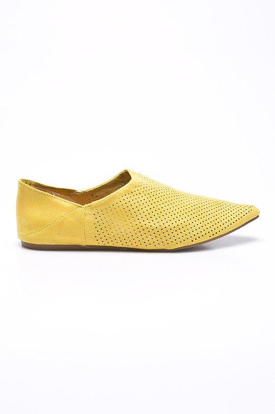 žltá Answear - Baleríny Chc-Shoes Dámsky