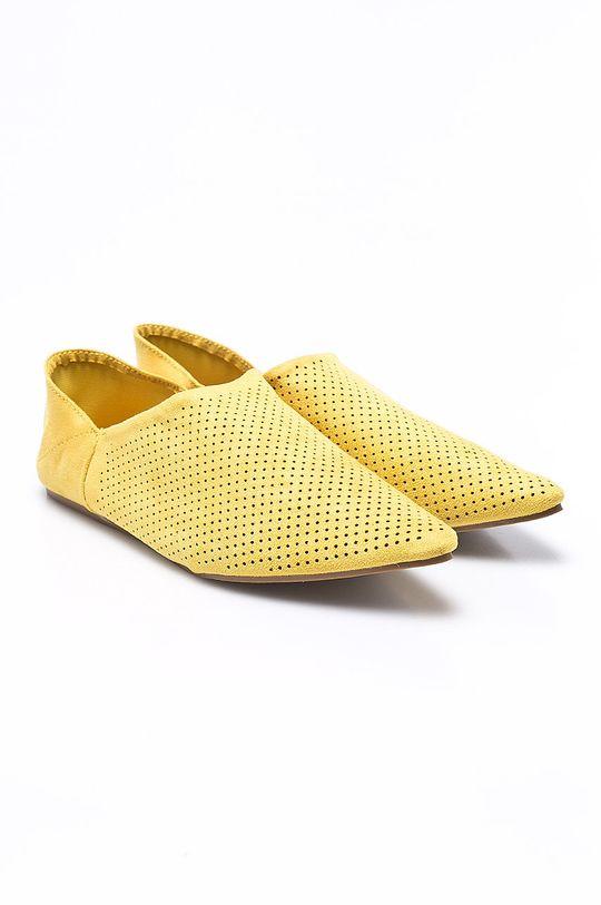 Answear - Baleríny Chc-Shoes žltá