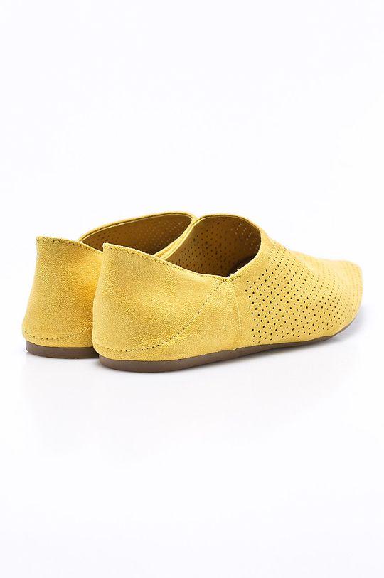žltá Answear - Baleríny Chc-Shoes