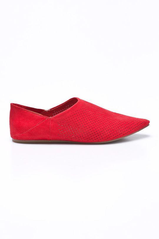 červená Answear - Baleríny Chc-Shoes Dámsky