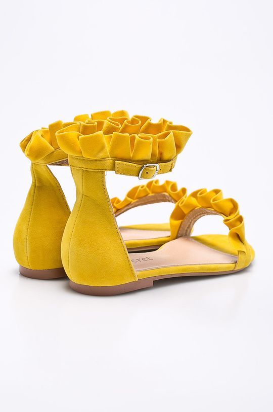 žltá Answear - Sandále Secret