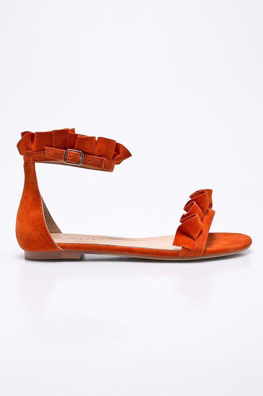 oranžová Answear - Sandále Secret Dámsky