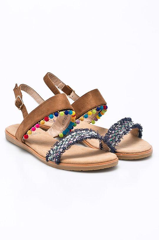 Answear - Sandále Kylie Crazy gaštanová