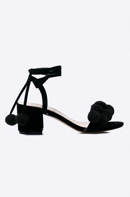 čierna Answear - Sandále Secret Dámsky