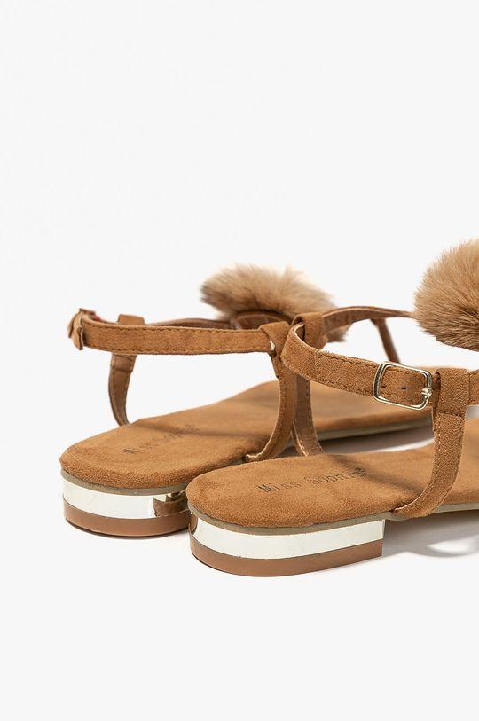 zlatohnedá Answear - Sandále Miss Sophia