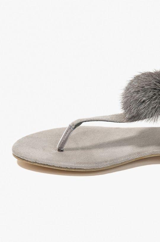Answear - Sandále Miss Sophia sivá