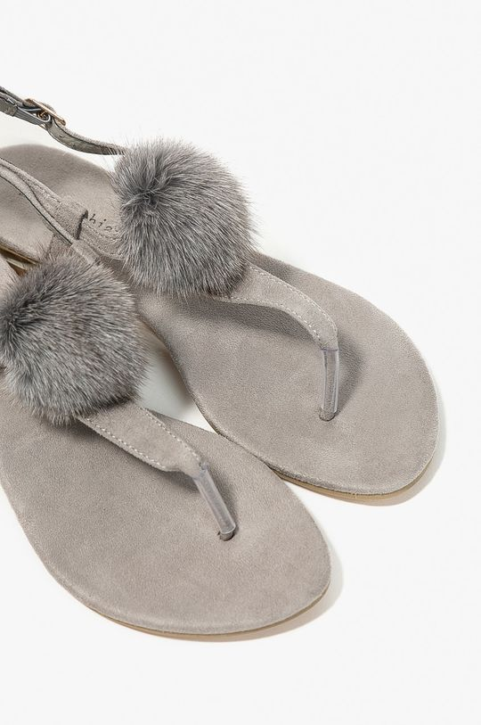 Answear - Sandále Miss Sophia <p>Zvršok: Textil Vnútro: Syntetická látka, Textil Podrážka: Syntetická látka</p>