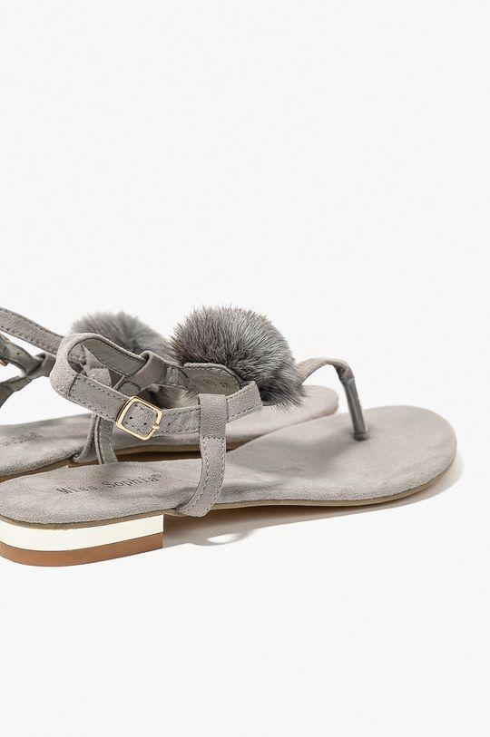 sivá Answear - Sandále Miss Sophia