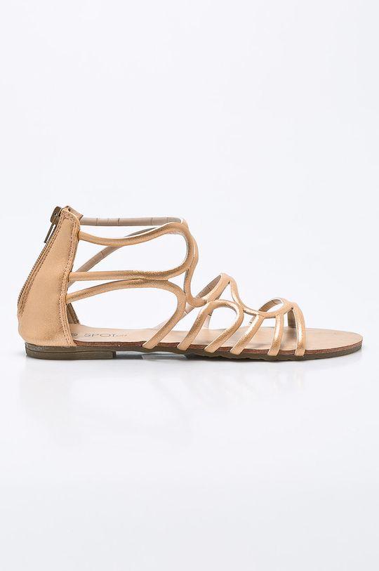 zlatá Answear - Sandále Spot On Dámsky