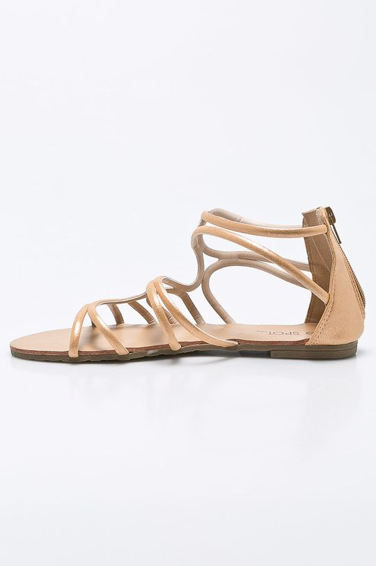 Answear - Sandále Spot On <p>Zvršok: Syntetická látka Vnútro: Syntetická látka, Prírodná koža Podrážka: Syntetická látka</p>
