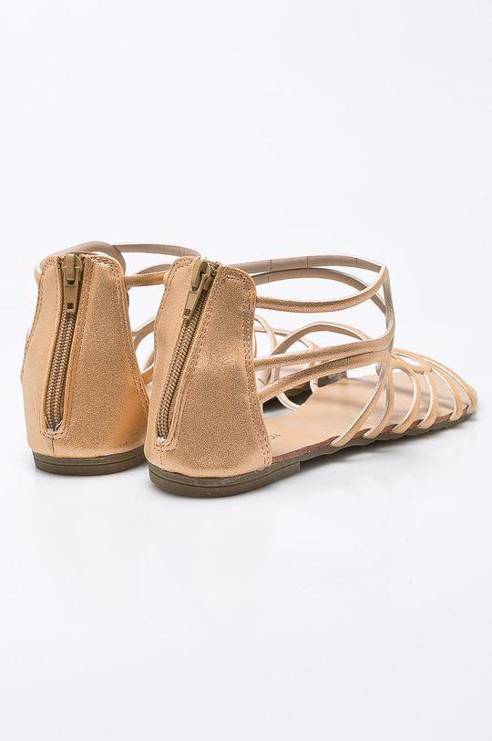 zlatá Answear - Sandále Spot On
