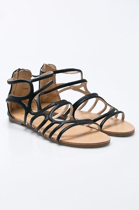 Answear - Sandále Spot On čierna