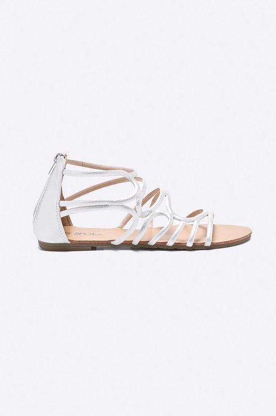 strieborná Answear - Sandále Spot On Dámsky