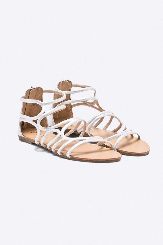 Answear - Sandále Spot On strieborná