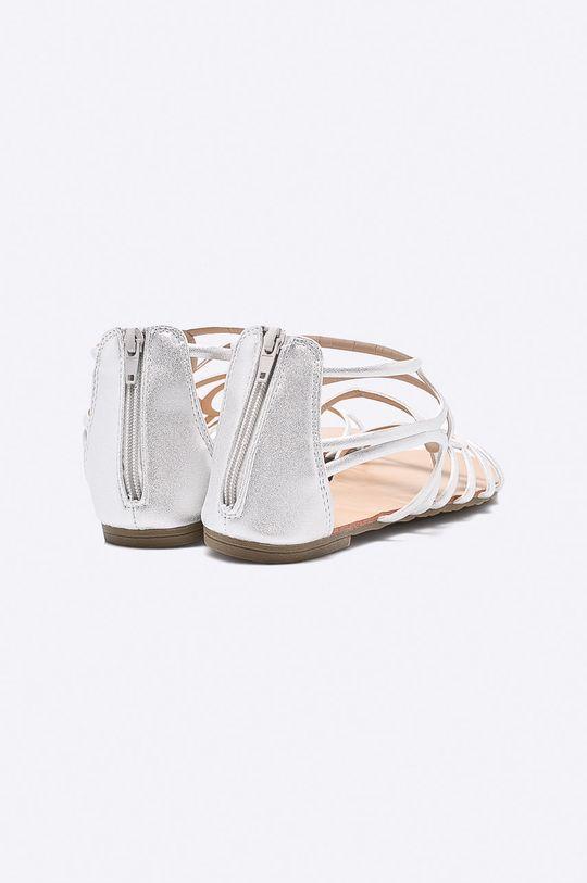 strieborná Answear - Sandále Spot On