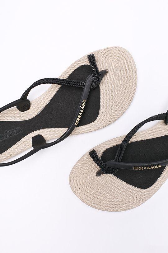 Answear - Sandále Terra Aqua čierna