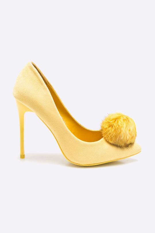 žltá Answear - Lodičky Chc-Shoes Dámsky